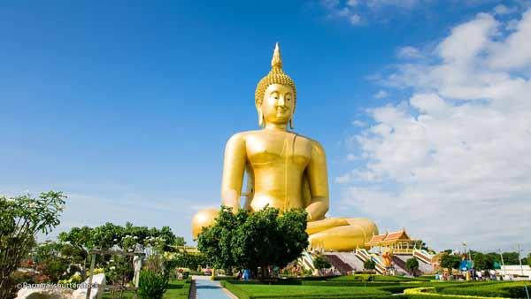 Daftar Patung Tertinggi Di Dunia - Great Buddha of Thailand