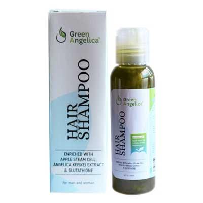 Merk Shampo Untuk Memanjangkan Rambut - Green Angelica Hair Growth Accelerator