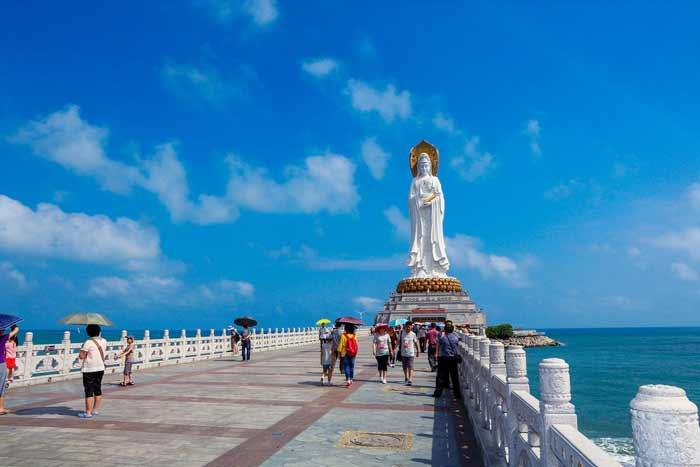 Daftar Patung Tertinggi Di Dunia - Guan Yin of the South Sea of Sanya