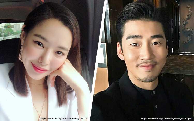 Pasangan Artis Korea Yang Hubungannya Bisa Menjadi Panutan - Honey Lee dan Yoon Kye Sang
