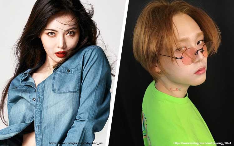 Pasangan Artis Korea Yang Hubungannya Bisa Menjadi Panutan - HyunA dan E'Dawn