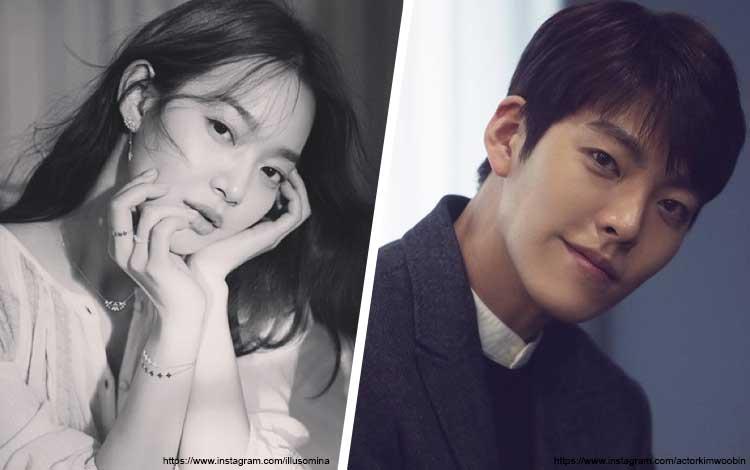 Pasangan Artis Korea Yang Hubungannya Bisa Menjadi Panutan - Kim Woo Bin dan Shin Min Ah