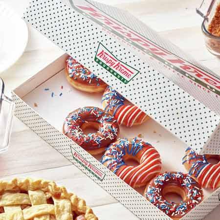 Daftar Merek Donat Terkenal, Terpopuler Dan Terbesar Di Indonesia - Krispy Kreme Doughnuts