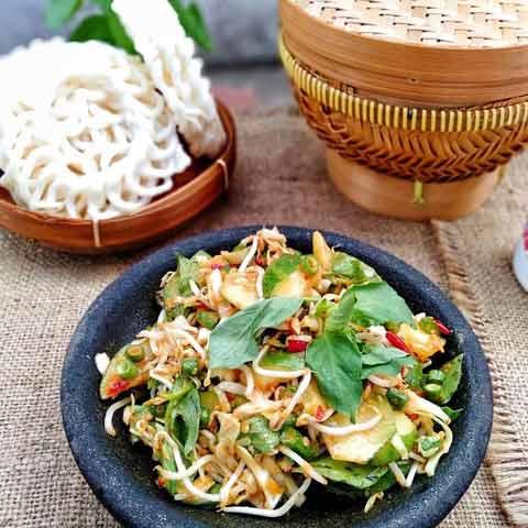 Makanan Dan Minuman Khas Bandung - Karedok