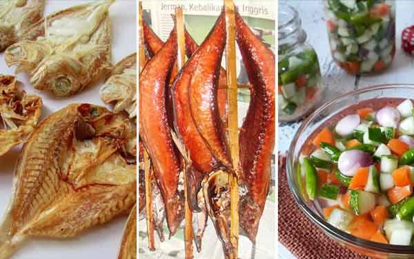 Jenis Makanan Yang Bisa Memicu Kanker Pada Wanita - Makanan asin, diasap, atau diasamkan