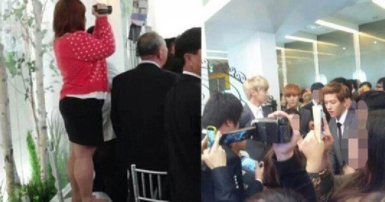 Kelakuan Para Fans - Mengganggu Acara Keluarga Sang Idola