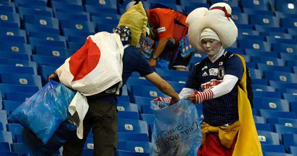 Berbagai Budaya Positif Jepang Yang Patut Dicontoh Dan Ditiru - Menjaga kebersihan