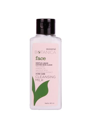Merk Cleanser Yang Bagus Untuk Kulit Berjerawat - Mineral Botanica Acne Care Cleansing Milk
