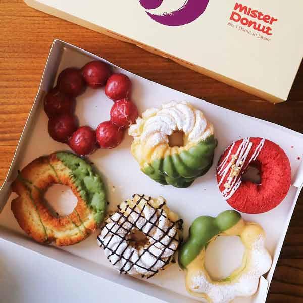 Daftar Merek Donat Terkenal, Terpopuler Dan Terbesar Di Indonesia - Mister Donut