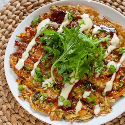 Makanan Jepang Yang Populer Di Indonesia - Okonomiyaki