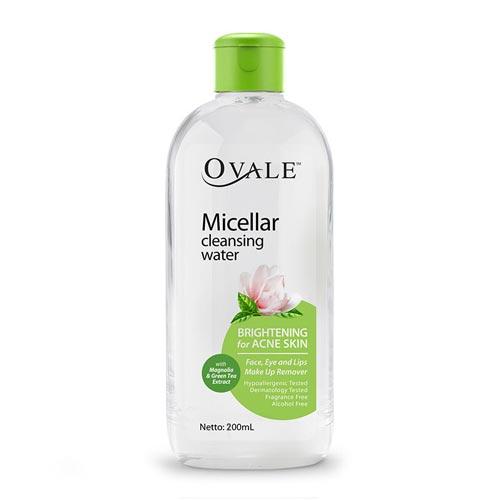 Merk Cleanser Yang Bagus Untuk Kulit Berjerawat - Ovale Micellar Cleansing Water
