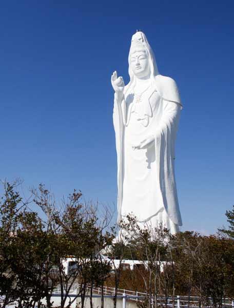 Daftar Patung Tertinggi Di Dunia - Sendai Daikannon