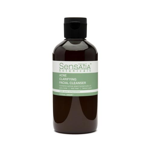 Merk Cleanser Yang Bagus Untuk Kulit Berjerawat - Sensatia Botanicals Natural Facial Cleanser Acne Clarifying