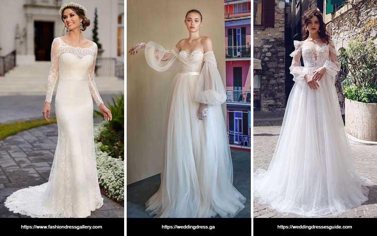 Trend Gaun Pengantin 2019 - Sleeves