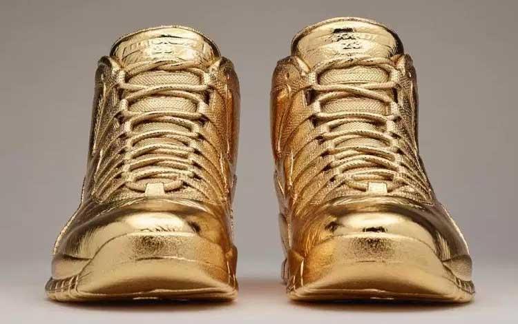 Sneaker Termahal di Dunia - Solid Gold OVO x Air Jordans