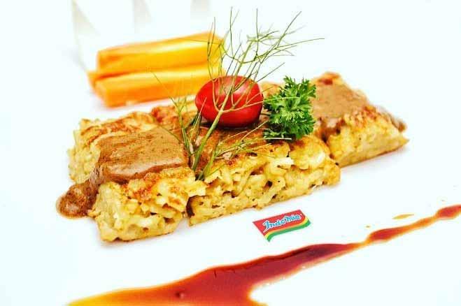 Aneka Kreasi Indomie Yang Enak Dan Unik - Steak Indomie