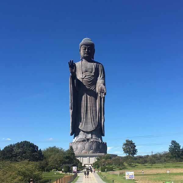 Daftar Patung Tertinggi Di Dunia - Ushiku Daibutsu