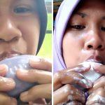 Viral Perempuan Yang Makan Sabun Batangan