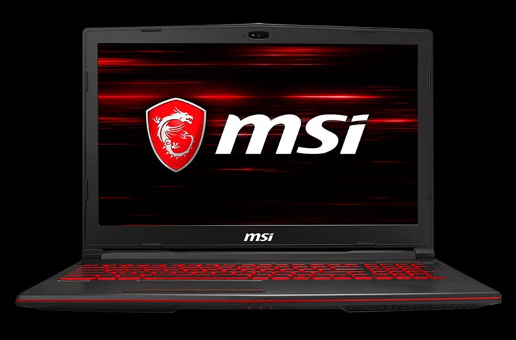 10 Rekomendasi Laptop Gaming yang Berkualitas dengan Harga Terjangkau - MSI GL63 8RC-426