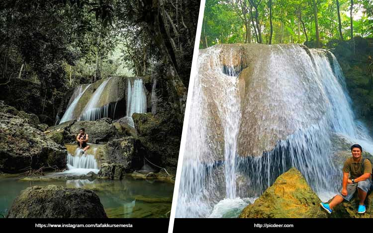 Tempat Wisata Di Madura - Air Terjun Dhurbugan