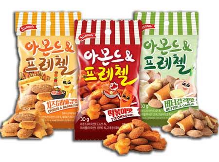 Snack Korea Yang Ada Di Indonesia - Almond & Pretzel