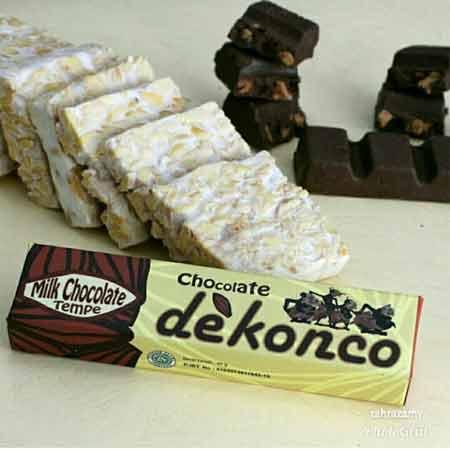 Makanan Enak Ini Terbuat Dari Tempe - Coklat Tempe