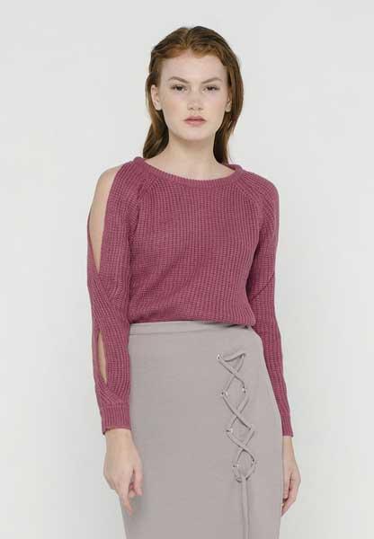 Sweater Wanita Terbaru - Cold Shoulder Sweater