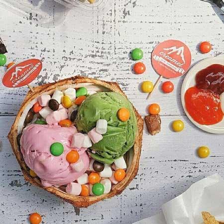 Tempat Makan Es Krim Yang Enak Di Surabaya - Creamel Ice Cream