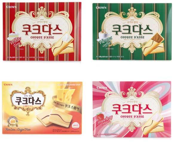 Snack Korea Yang Ada Di Indonesia - Crown Couque D'Asse
