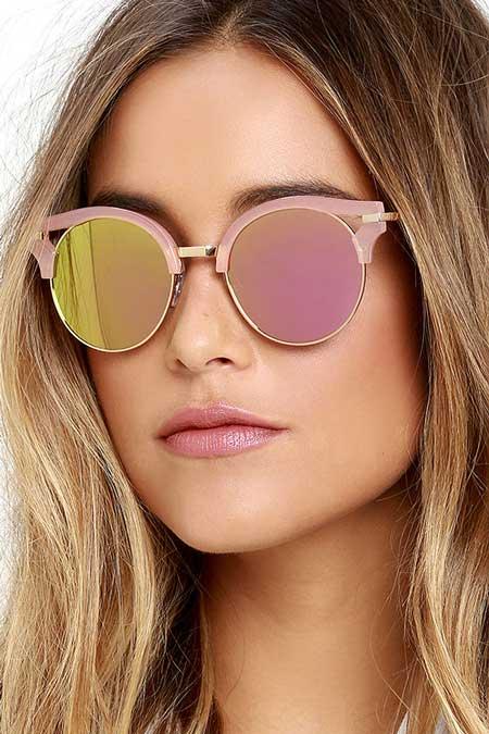 Model Kacamata Yang Lagi Trend Saat Ini - model kacamata Pink
