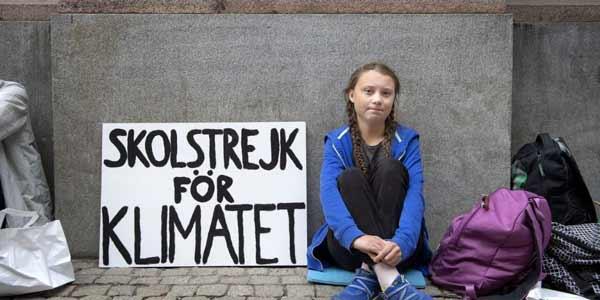Greta Thunberg, Pelajar Swedia Yang Melakukan Gerakan Bolos Sekolah Demi Aksi Perubahan Iklim