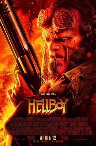 Film Bioskop April 2019 - Hellboy