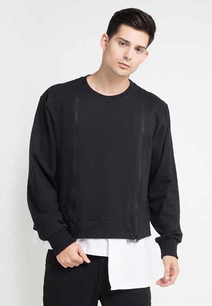 Sweater keren pria - Hemline Asimetris Beltran Sweater