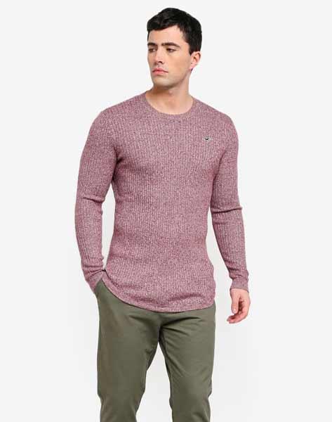 Sweater keren pria - Muscle Fit Crew Sweater
