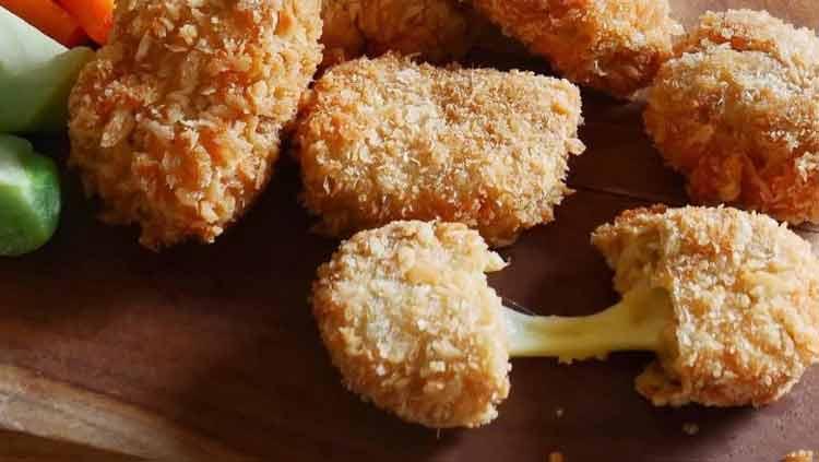 Makanan Enak Ini Terbuat Dari Tempe - Nugget Tempe