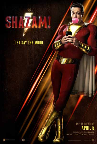 Film Bioskop April 2019 - Shazam