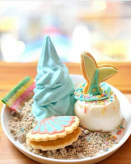 Tempat Makan Es Krim Yang Enak Di Jakarta - Shirokuma Cafe