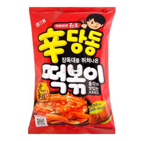Snack Korea Yang Ada Di Indonesia - Sindandong Tteokbokki