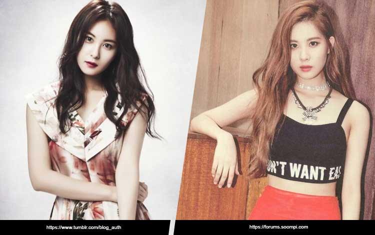 Artis Korea Yang Mirip - Son Eun Seo dan Seohyun SNSD