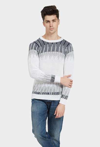 Sweater keren pria - Sweater Gradation Vol Scale Knitwear Top