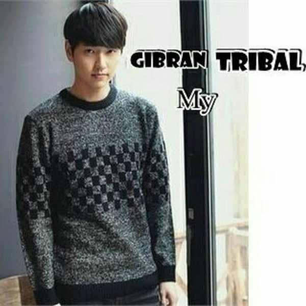 Sweater keren pria - Sweater Pria Rajut Gibran Tribal