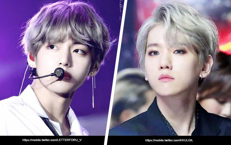 Artis Korea Yang Mirip - V BTS dan Baekhyun EXO