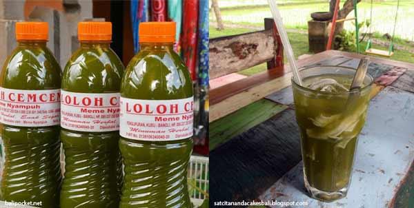 Berbagai Minuman Tradisional Indonesia Yang Enak Dan Menyehatkan - Loloh Cemcem