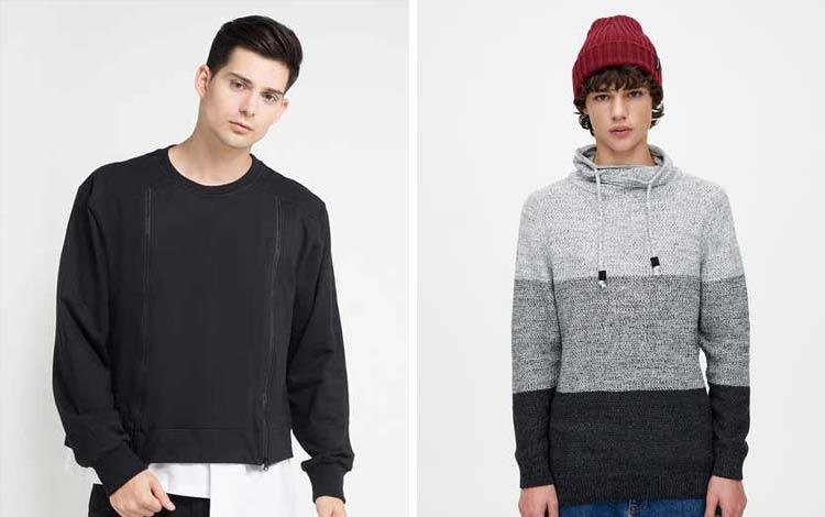 Sweater pria keren terkini