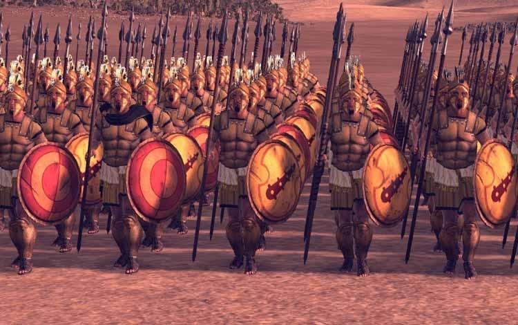 Pasukan Militer Kerajaan Di Dunia Pada Zaman Dulu - Askar Suci Thebes