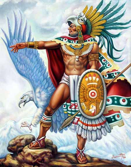 Pasukan Militer Kerajaan Di Dunia Pada Zaman Dulu - Aztec WarriorAztec Warrior