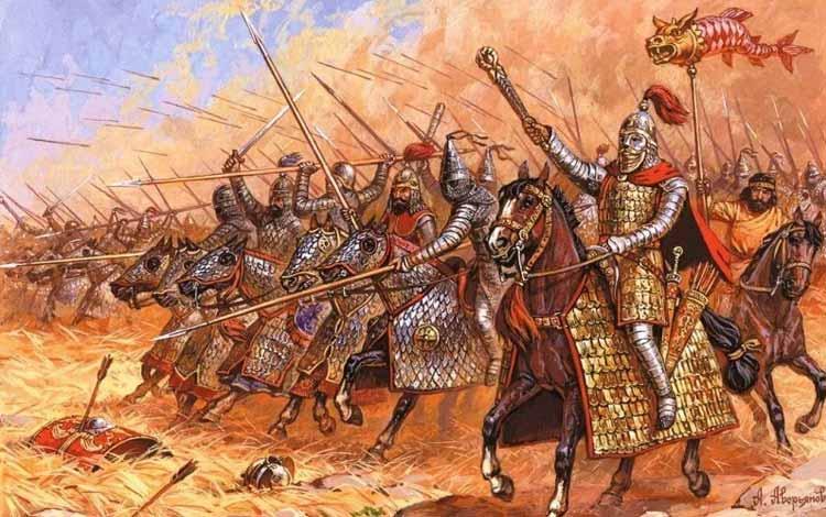 Pasukan Militer Kerajaan Di Dunia Pada Zaman Dulu - Cataphract / Kataphraktoi