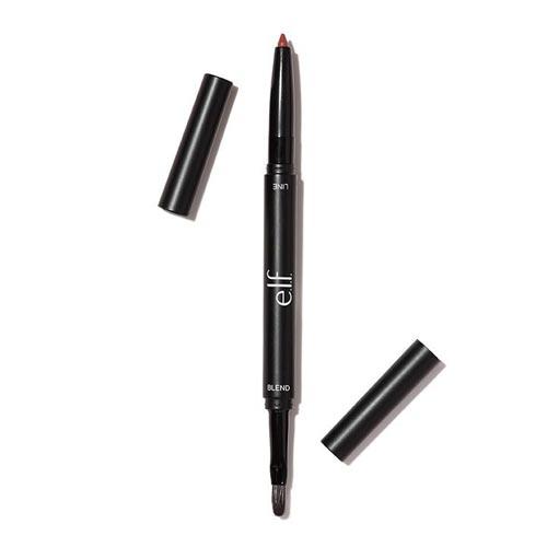 Lip Liner Yang Bagus dan Tahan Lama - E.l.f Lip Liner & Blending Brush