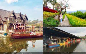Tempat Wisata Indah Dan Murah Di Indonesia - Floating Market Lembang, Bandung