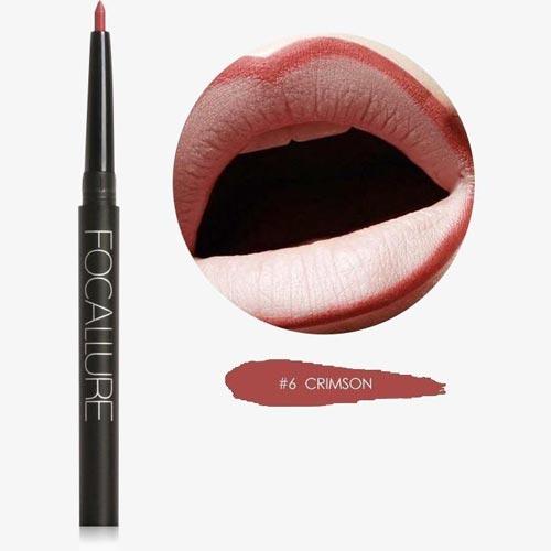 Lip Liner Yang Bagus dan Tahan Lama - Focallure Waterproof Lip Liner